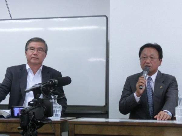 日本のゴルフ界再興に向けた熱き討論集会
