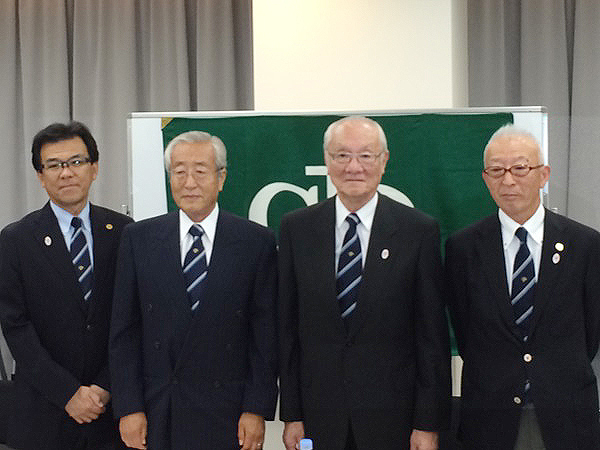 JGA新体制記者会見